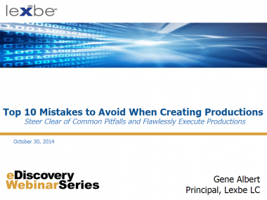 10 mistakes to Avoid when Running Productions