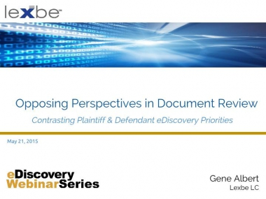 Opposing Perspectives in Document Review