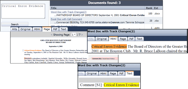 Advanced eDiscovery Search PostTHmbnl