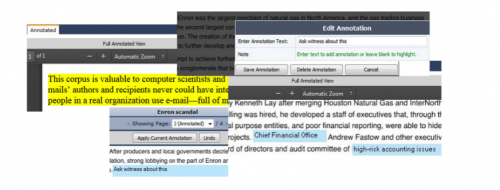New! Annotation and Highlighting Functionality