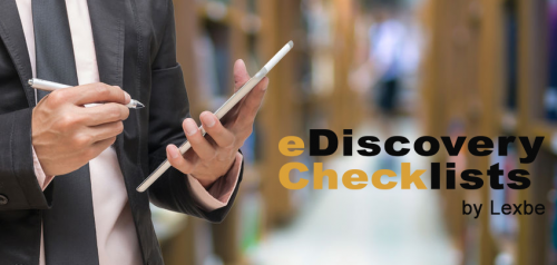 eDiscovery Checklist: Managing Non-Email Communication