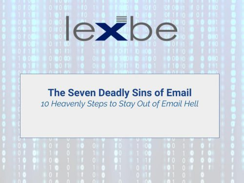 The Seven Deadly Sins of Email